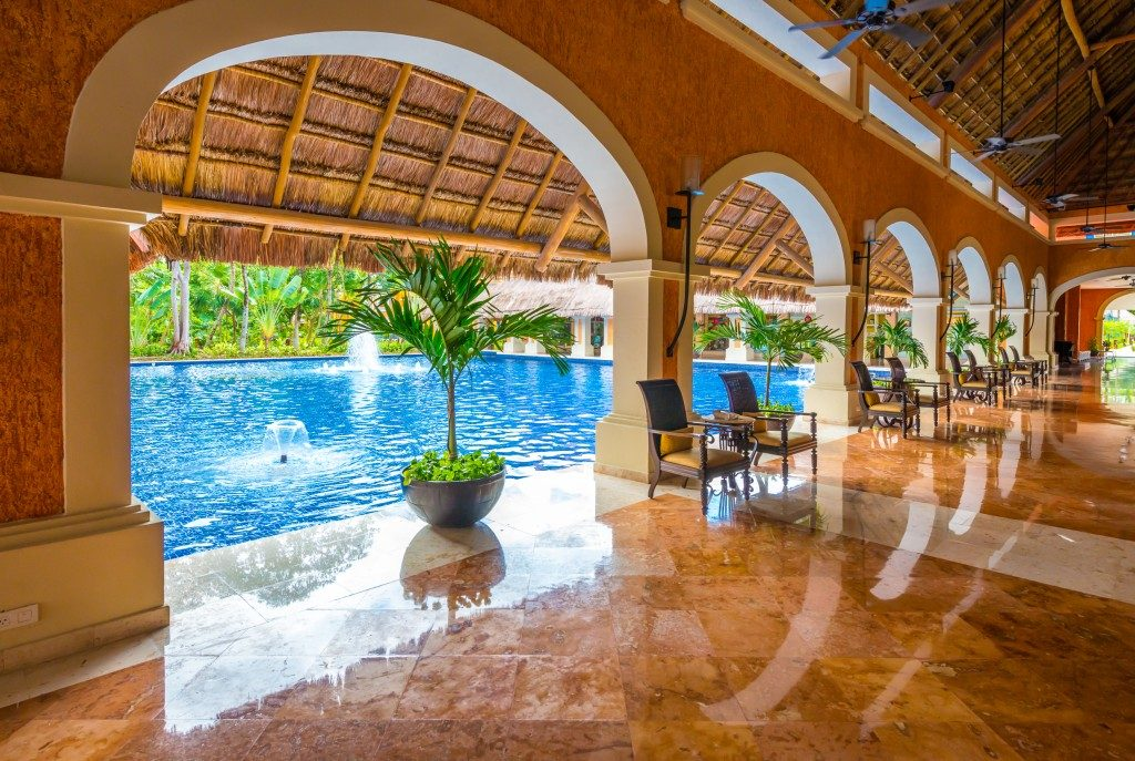a modern resort