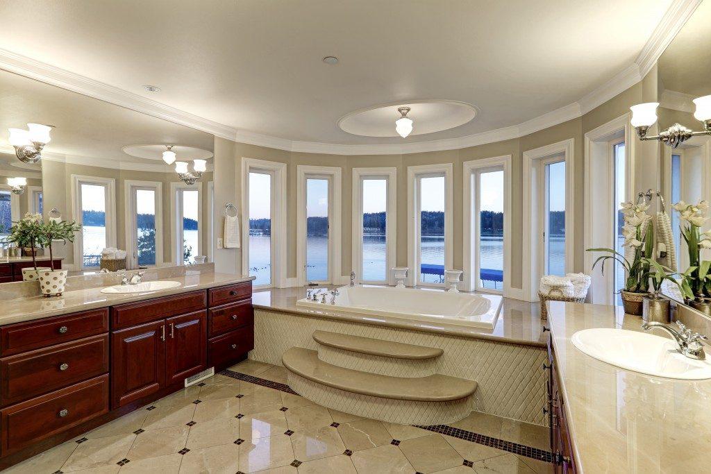 elegant walk in bath tub