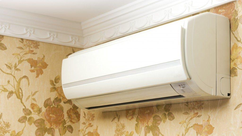 Indoor unit airconditioner in home interior