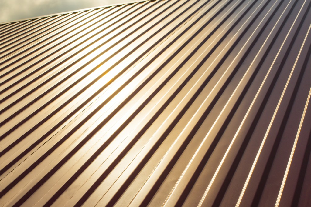 metal sheet for roofing