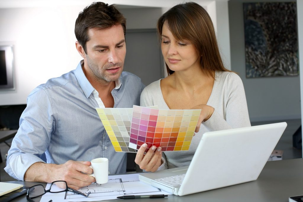 choosing colors for home wall