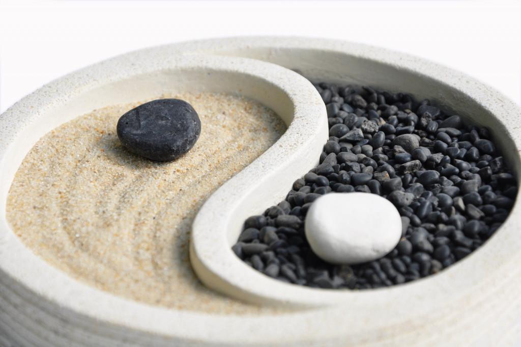 yin yang sandscape
